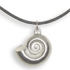 * Moon Shell Pendant Leather (M)!