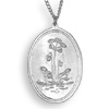 * Pitcher Plant Pendant Oval Chain (M)!