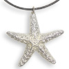 * Sea Star Pendant Leather (L)!