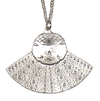 * Sea Urchin Pendant (Sandollar) Fan Chain (M)!